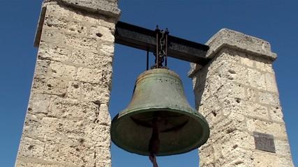 The Bell of Chersonesos in Sevastopol, Crimea, Ukraine