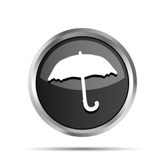 black forecast icon on a white background