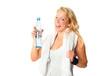 Durstig nach dem Sport