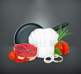 Food, illustration
