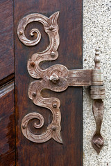 Ancient door fittings