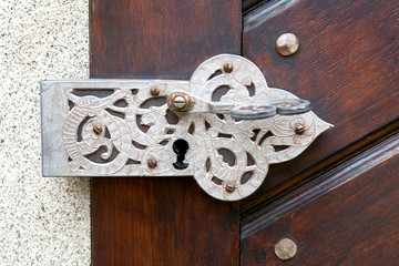 Ancient door fittings