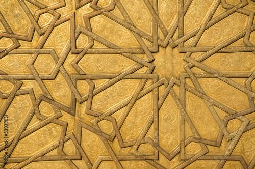 Deurstickers Marokko Islamic Art
