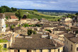 St-Emilion aerial view, France