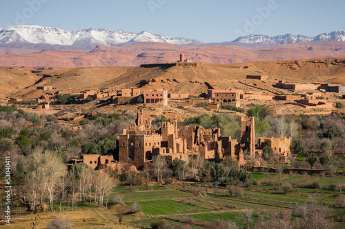 Fotobehang Marokko Morocco