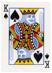 Playing Card - King of Spades