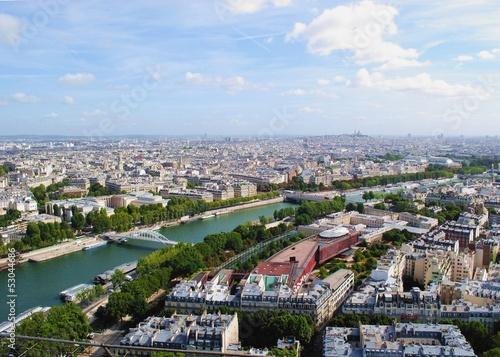 Panorama Paryża