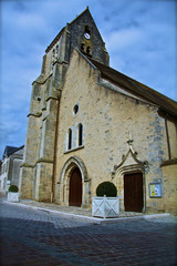 church , france , countryside