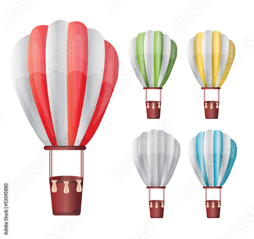 Hot air balloon set