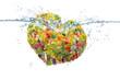 Obrazy drukowane na płótnie, fototapety, zdjęcia, fotoobrazy cyfrowe : 野菜と果物