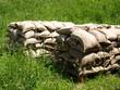 Hochwasser Vorsorge - Sandsäcke