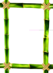 cornice bambù