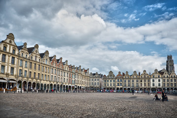 Place des Héros à Arras, France