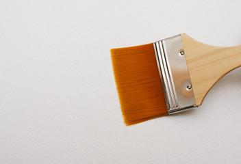 New paint brush isolated on white
