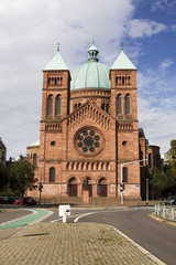 Saint-Pierre-le-Jeune Catholic church in Strasbourg