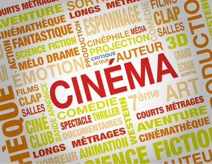 nuage de mots cinema
