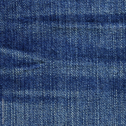 Denim Fabric Texture - Blue