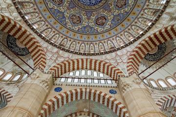 Interior Decoration of Selimiye Mosque