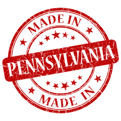 made in pennsylvania red stamp