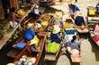 Amphawa Floating market, Amphawa, Thailand - 53055419