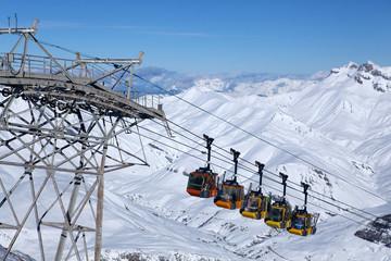 La grave Ski lift