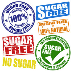 Sugar free stamps
