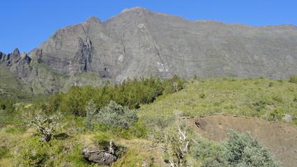 Rempart du Maïdo - île de la Réunion