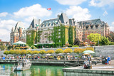 Beautiful view of Inner Harbour of Victoria, BC, Canada - 53059254