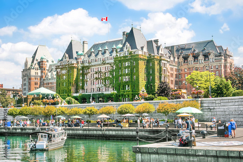 Foto op Aluminium Canada Beautiful view of Inner Harbour of Victoria, BC, Canada