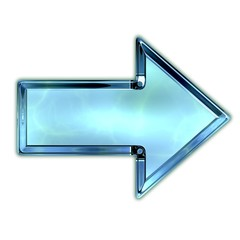 Glass arrow.