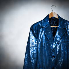 blue showbiz jacket