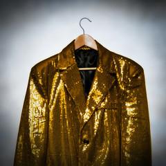 yellow showbiz jacket