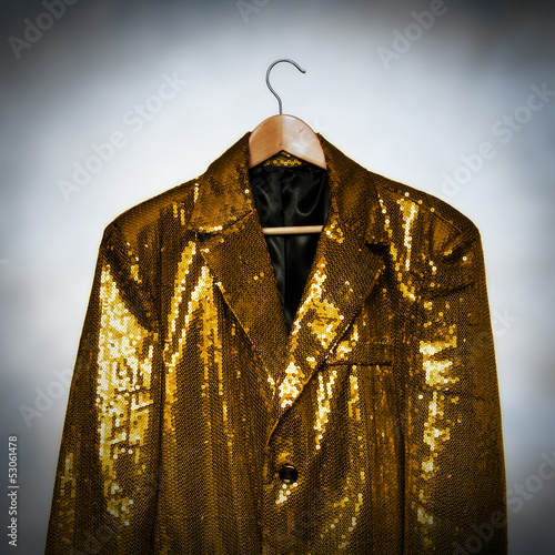 yellow showbiz jacket