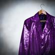 purple showman jacket