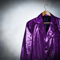 purple showman jacket