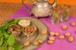 Moroccan food ingredients still life