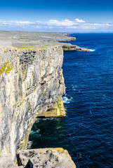 cliffs on Inishmore, Ireland++