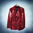 red sequined jacket
