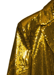 gold entertainer jacket