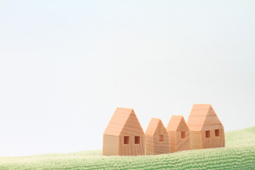 積み木の家 住宅