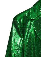 green entertainer jacket