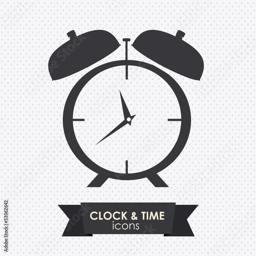 clock and time icon