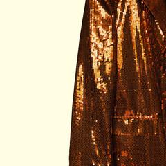 shiny gold jacket