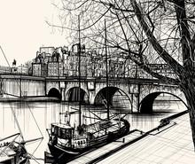 Paris - Ile de la Cité - Pont neuf