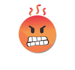 Angry - Emoticon icon