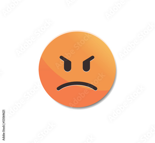 Angry - Emoticon icon