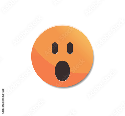 Gasp - Emoticon icon