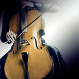 Cello instruments player