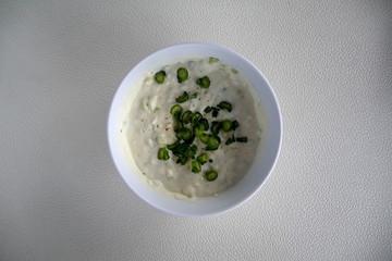 The famous Greek yogurt salad, tzatziki