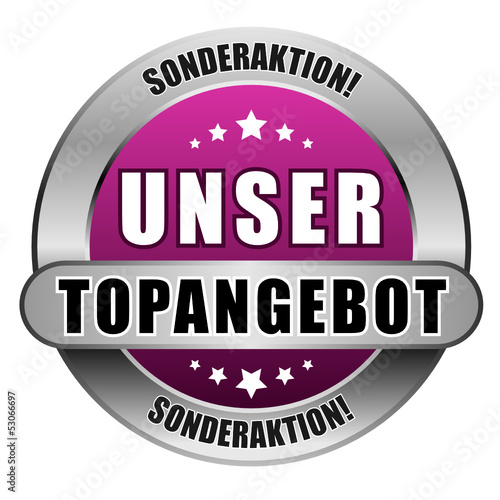 5 Star Button pink UNSER TOPANGEBOT SA SA